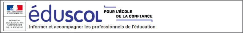 En savoir + sur le site officiel EducScol
