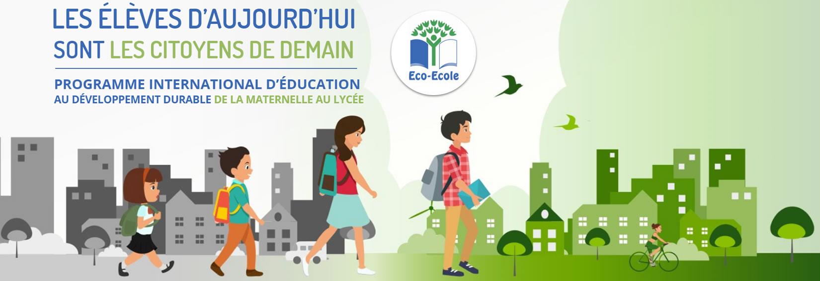 Programme Eco-ecole : découvrir le site officiel